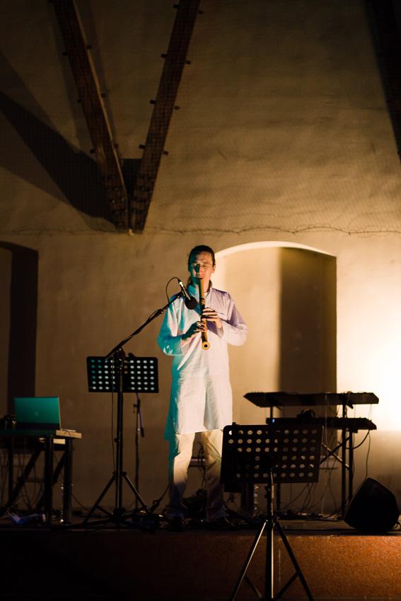 ESS Shakuhachi Festival in Prague Justin Senryu Opening Performance Ajikan