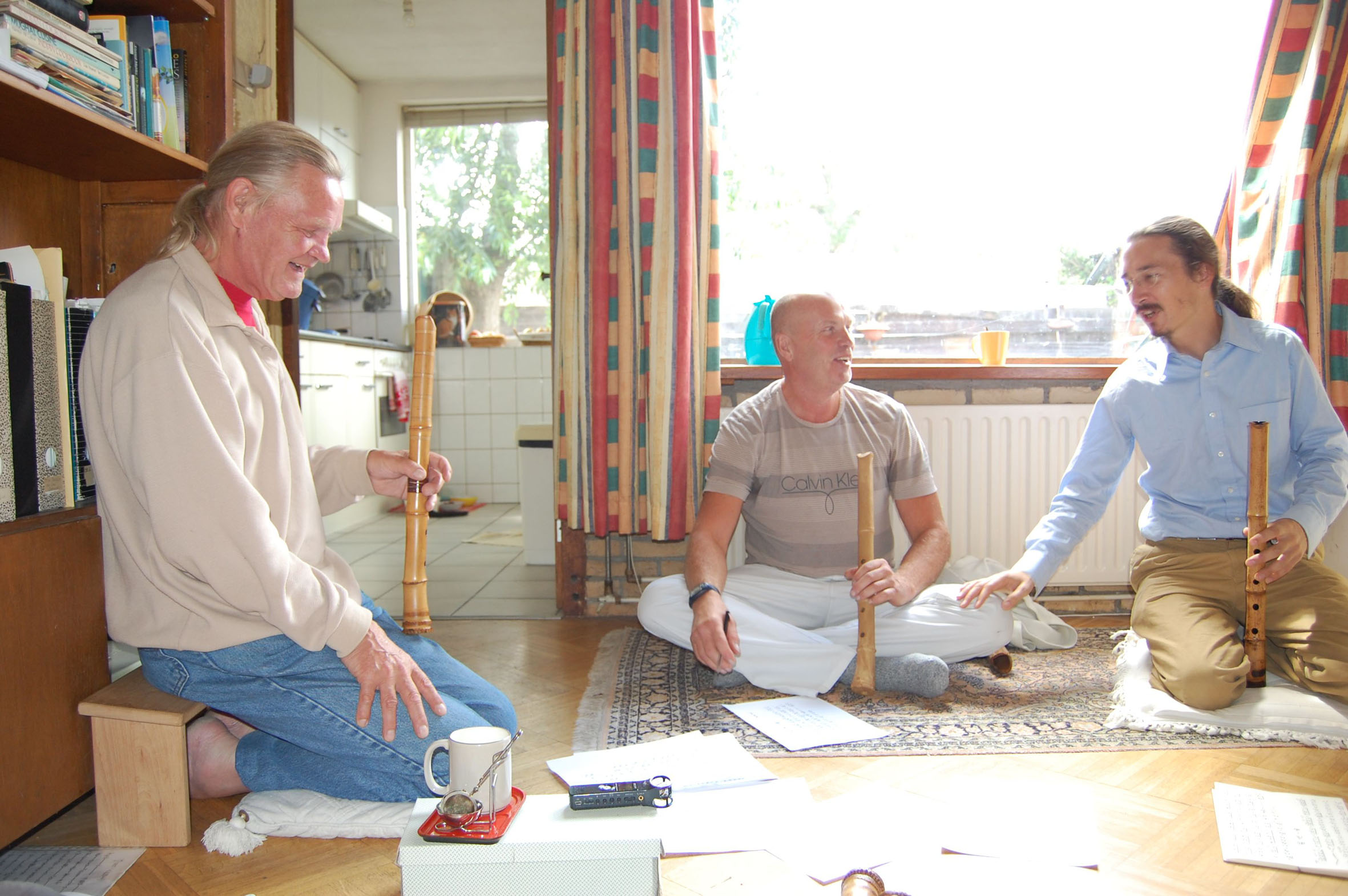 Shakuhachi workshop in Leiden, Netherlands-Holland - Justin Senryu