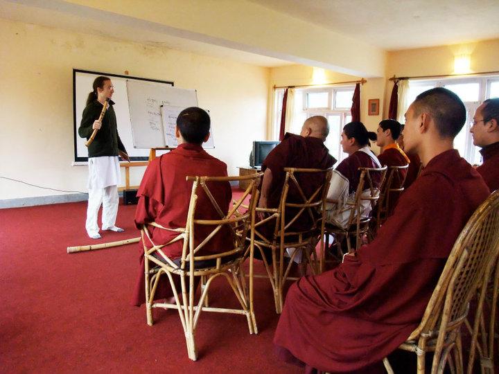 Justin Senryu with Dzongsar Khyentse Rinpoche, tulkus and khenpos